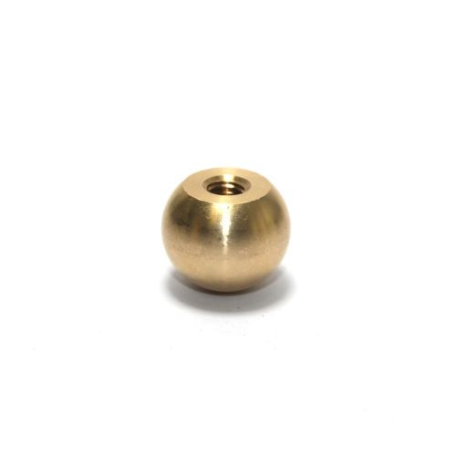 Solid Brass 18.90mm Diameter Ball Finial M6 Threaded